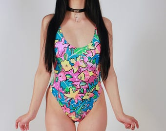 Vintage Coloring Book One Piece Swimsuit