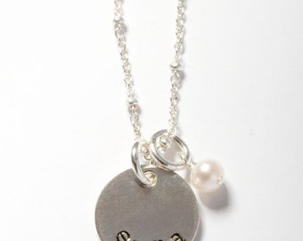 Little Girls Jewelry, Little Girl Necklace, Little Girls Necklace, Little Girl Jewelry, Name Necklace, Personalized Girl Jewelry, Custom