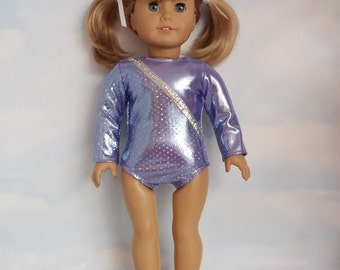 18 inch doll clothes - #120 Lilac Leotard handmade to fit the American Girl Doll - FREE SHIPPING