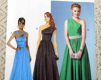 Butterick 5987, Misses' Dress Sewing Pattern, Easy Dress Pattern, Misses' Patterns, Misses' Size 16 to 24, Uncut