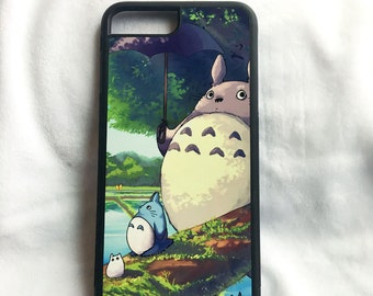 Printed iPhone and Samsung phone case - Totoro