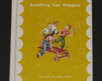 1963 Anything Can Happen- parallel first reader - Alice and Jerry