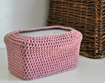 Rose Baby Wipes Box Cover Modern Pink Nursery Decoration Home Decor Custom Colors