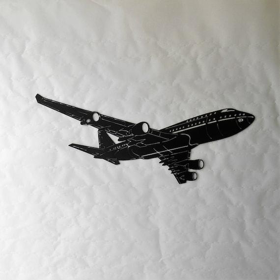 Airplane Metal Wall Decoration Passenger Boeing 747