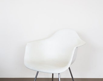 White Modernica Shell Armchair