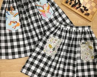 Checkmate Skirt (Size 6)