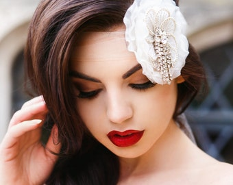 Rhinestone Bridal Headpiece, Bridal Headband, Crystal Headband, Wedding Hair Accessories, Bridal Hair, Vintage Wedding