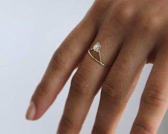 Odette Opal Ring