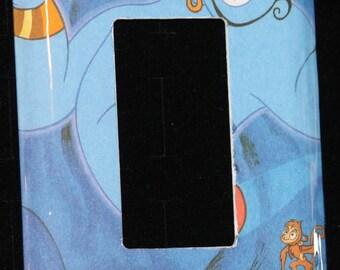 Disney Aladdin Genie Robin Williams Decora Toggle Switch Plate Wallplate Light Cover
