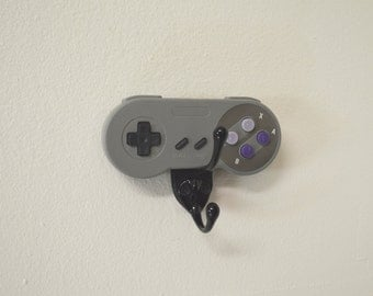 Super Nintendo SNES wall Hook