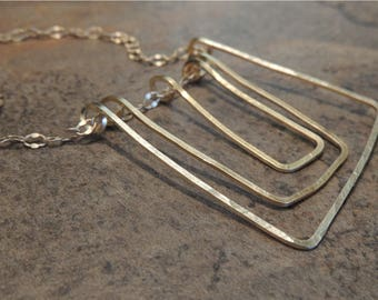 Geometric Objects necklace