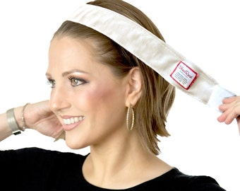 Non-Slip No Slip Wig Grip Headband Head band Cream Off White Brown Velvet Keeps Anything Slippery On Your Head All Day Long! ShariRose