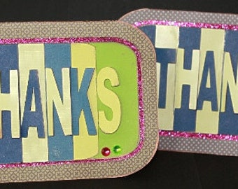 Thanks Pop-Up  Card, SVG & DS Cutting File Kit