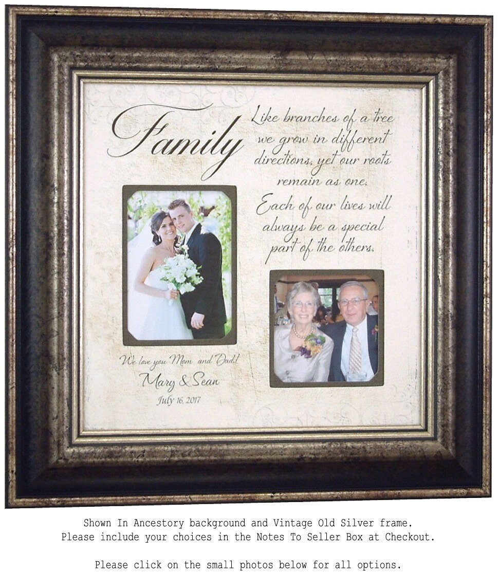 Parents Thank You Wedding Gift: Personalized Wedding Gift For Parents Parents Thank You Gift