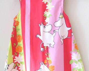 MOOMIN Fabric Sleeveless Dress Age 2-3