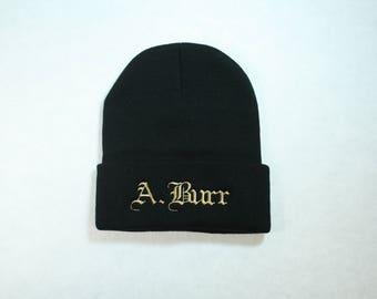 A. Burr Beanie
