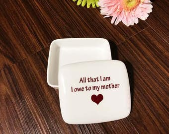 Mother of the Bride Gift from Bride   Keepsake Box   Mother of the Bride   Gift From Daughter on Wedding Day