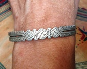 Old Berber Silver bracelet bangle from S. Morroco