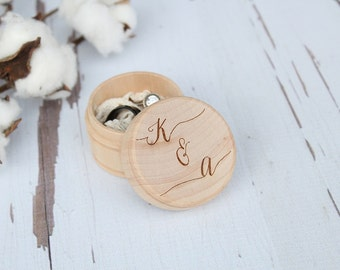 Wedding Ring Box Engraved Ring Box Ring Box With Initials
