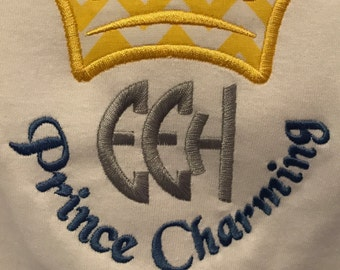 Prince Charming Embroiderd Shirt perfect for a Disney trip