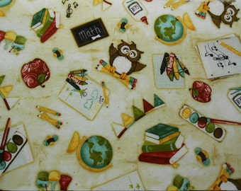 School Days Fabric