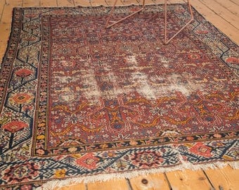 5x6 Antique Malayer Rug