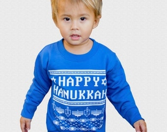 "Shop ""hanukkah sweater"" in Girls' Clothing"