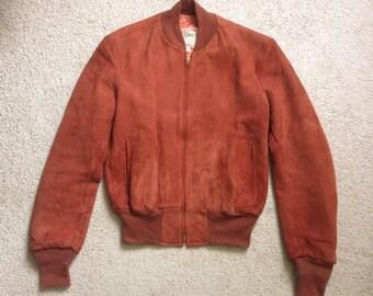 Appalachian Suede Deerskin Jacket, 50s-60s, size 36 Small