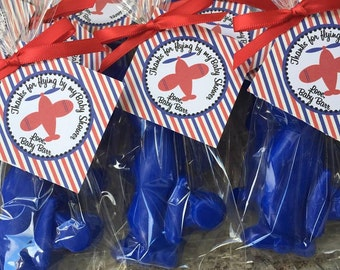 10 AIRPLANE SOAPS {Favors} - Transportation Soap, Airplane Soap Favor, Travel Baby Shower, Travel Wedding, Birthday Soaps, Air Plane