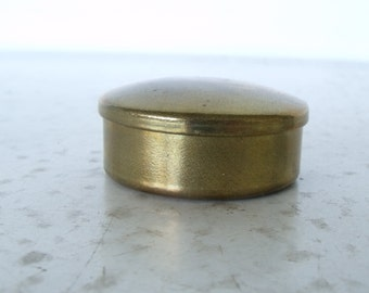 Small Brass Cap or Pill Box TDC Cash Manufacturing