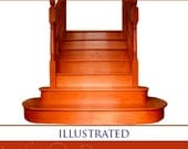 PRACTICAL STAIRCASE JOINERY Rare Beginners Illustrated Guide 158 pgs All You Need To Know Read on Your iPad or Tablet Instant Download