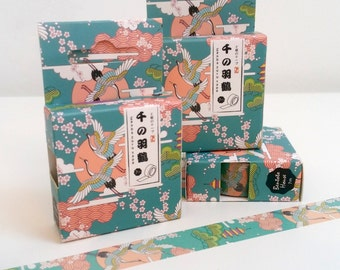 Pretty Japanese Birds Washi Tape