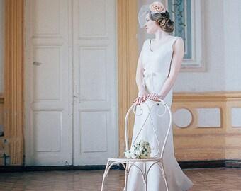 Art deco wedding dress | Felted wedding dress | bridal dress | unique wedding dress | original bridal dress |  gatsby wedding
