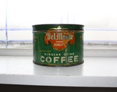 Vintage Del Monte Coffee Tin 1 Lb