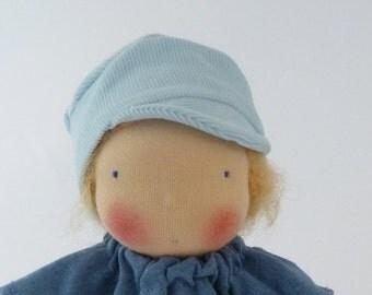 Waldorf doll  33 cm / 13 inch, Emil, Michel, baby doll, limbed doll, cloth doll