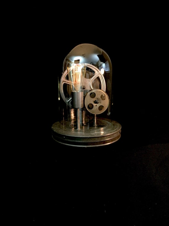 Table Lamp - Lighting - Film Relics - Upcycled Light