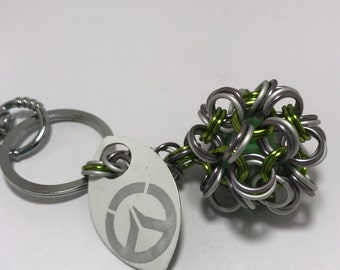 Genji Inspired Dodecahedron Key Chain