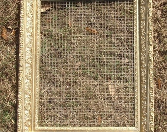extra large ornate frame jewelry accessory organizer handmade display
