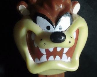 Taz Tasmanian Devil Pez Dispenser ~ Vintage 1995 WB Looney Tunes Brown Hungary Stem Collectible Candy Toy
