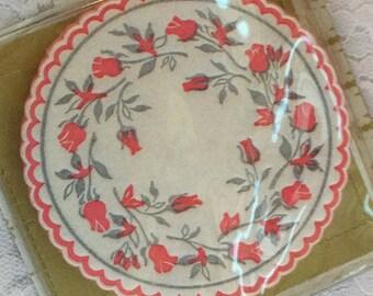 Vintage Decoritive Paper Coasters Decoupage Paper