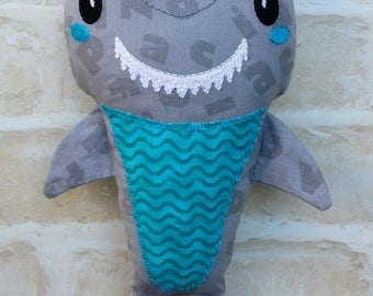 SHARK SOFTIE - Handmade Doll Softie Boy