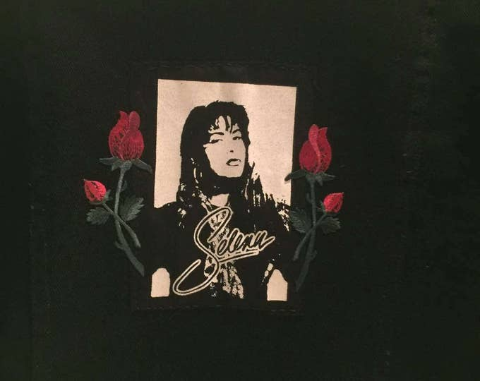 Selena Cloth Patch (does not come with roses)