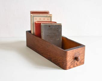 Vintage drawer, wooden box, storage box, old drawer