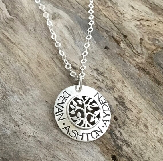 Tree of Life Necklace /Tree of Life Pendant /Tree of Life Necklace Sterling Silver /Family Tree Necklace/Tree Necklace /Personalized Jewelry