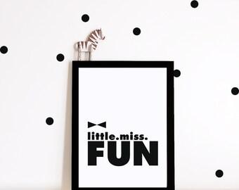 GIrls Nursery printable, girls nursery art, nursery decor, wall art, nursery prints, monochrome, kids art, girls room decor