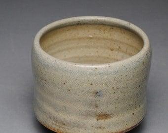 Tea Bowl Handmade Chawan  Soda Fired F86