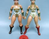 Vintage 1981 He-Man (MOTU) Teela Variants with Sheild Accessory C8