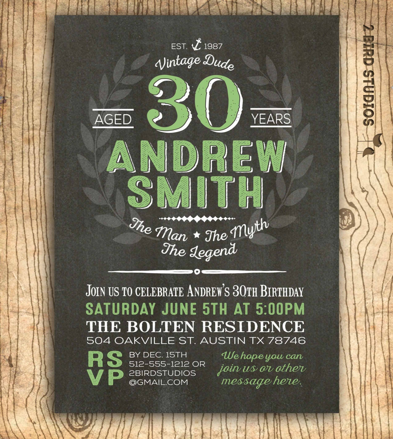 30th birthday invitation for men Surprise 30th birthday – Surprise 30th Birthday Invites