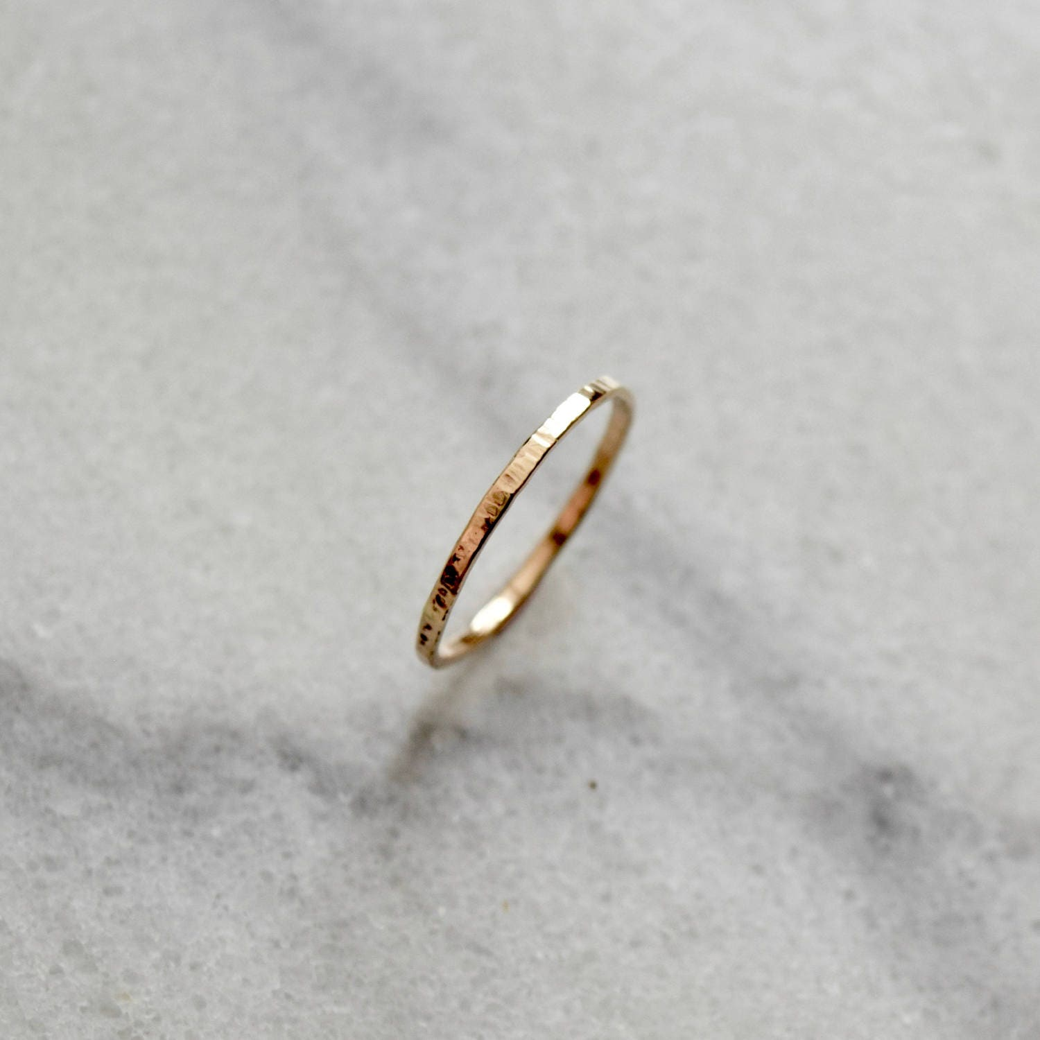14k simple gold ring simple gold band 14k gold ring solid gold