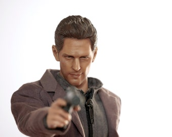 Paul Rudd Special Agent Scott Lang Ant-Man Avengers 12 inch 1/6 scale Hot Toys Style Custom Doll